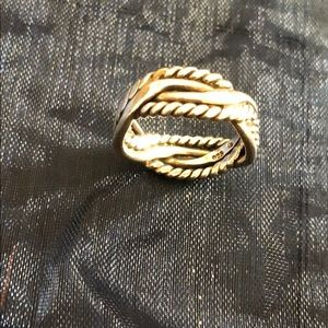 Silpada Sterling Silver Braided Ring